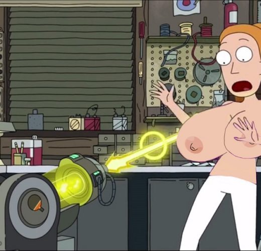 Summer Enlarges Her Boobs a Bit Too Much ~ Rick and Morty Rule 34