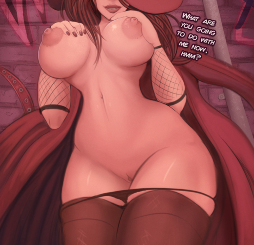 Carmen Sandiego Caught ~ Rule 34 by ParkdaleArt