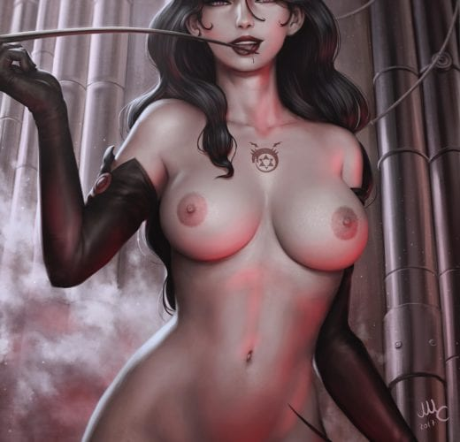 Lust the Lascivious ~ Full Metal Alchemist Rule 34 by mirco cabbia