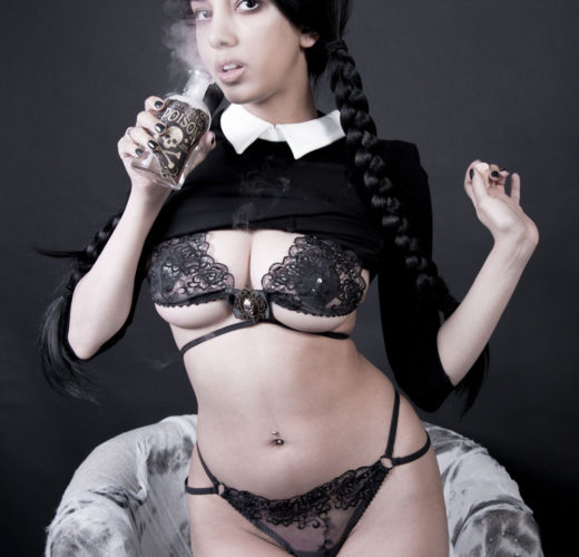 Wednesday Addams Cosplay by Swimsuit Succubus