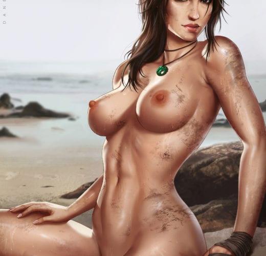 Lara Croft ~ Tomb Raider Fan Art by Dandonfuga