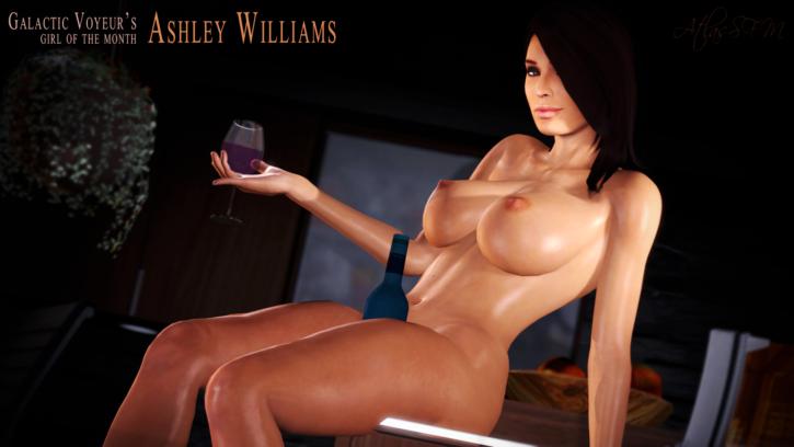 Ashley williams mass effect porn