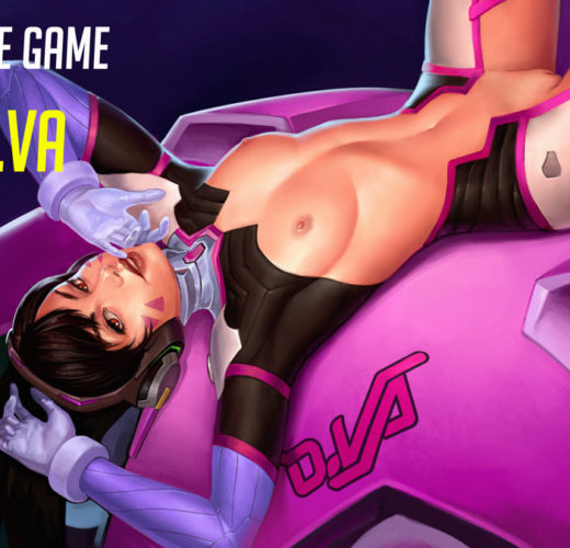 D.Va Gets Play of the Game ~ Overwatch Fan Art by Mavezar