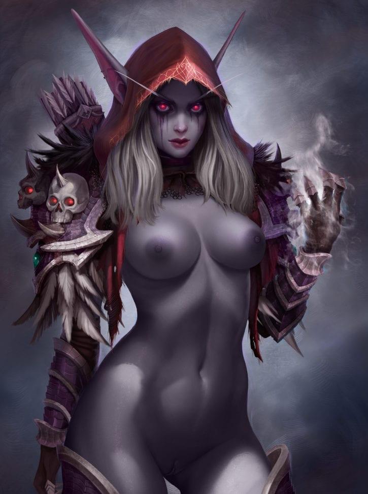 Sylvanas Windrunner ~ World of Warcraft Fan Art by prywinko