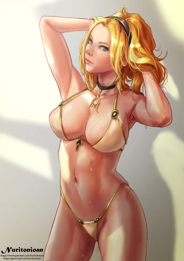 Bikini Lux ~ League of Legends Fan Art by nuritonioan