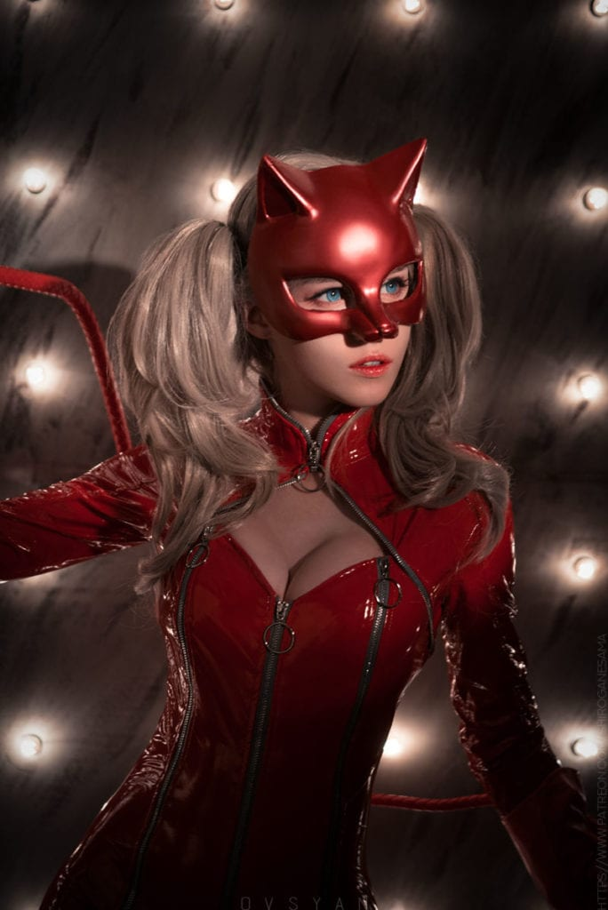 Ann takamaki cosplay porn