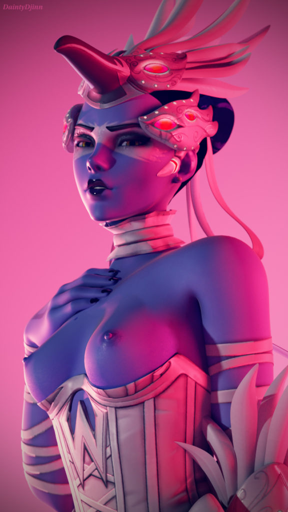 Odette Widowmaker ~ Overwatch Fan Art by DaintyDjinn