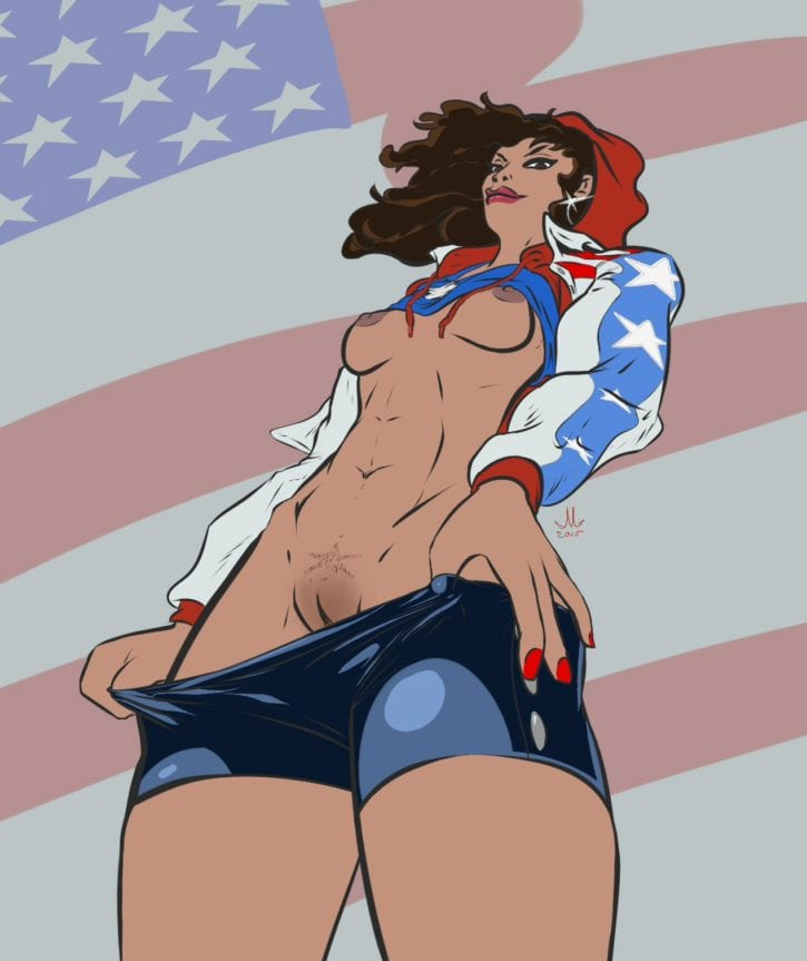 America Chavez ~ Rule 34 Collection [16 Pics]