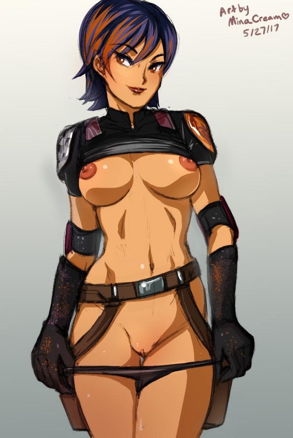 Fucking Star Wars Rebels Sabine Porno kinda