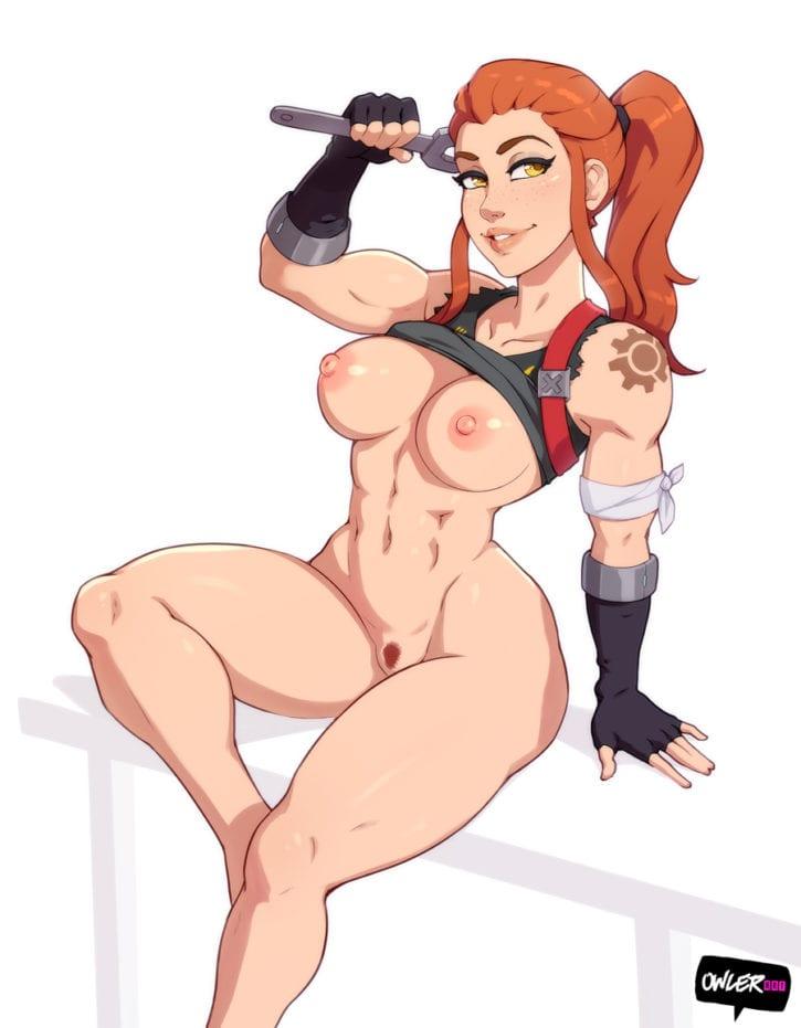 Brigitte Lindholm ~ Overwatch Rule 34 Porn Gallery [17 Pics]