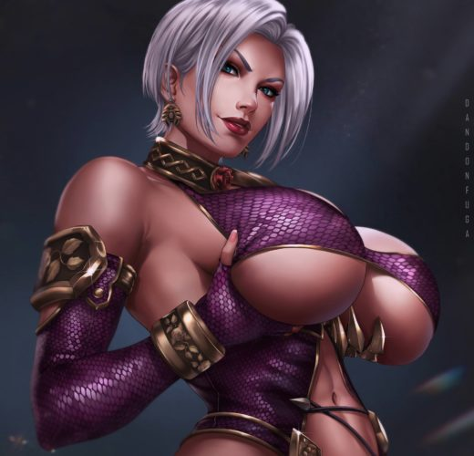 Ivy Valentine ~ Soul Calibur Fan Art by Dandonfuga