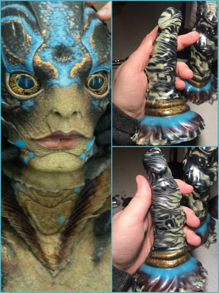 A Dildo Maker Has Finally Determined What The Shape of Water's Fish Dick Looks Like [Article Share]