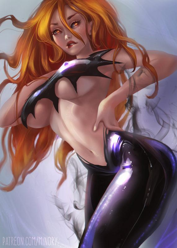Jean Grey ~ Marvel Fan Art by Minory