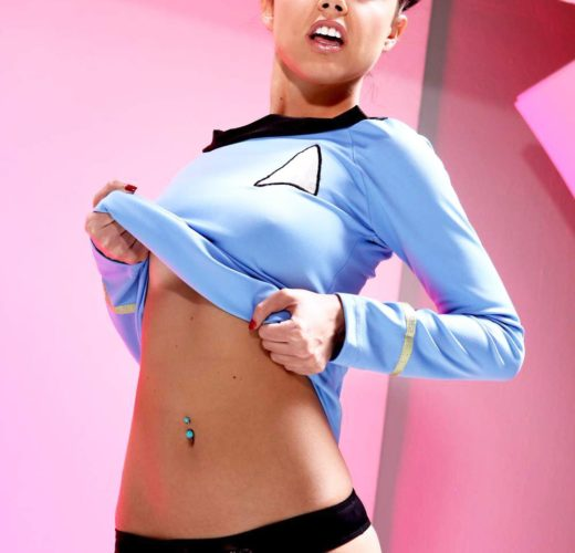 Dillion Harper + Star Trek = <3