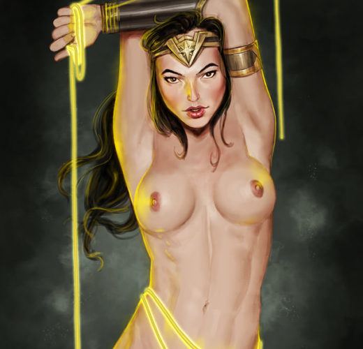 Wonder Woman's All Wrapped Up ~ DC Comics Fan Art by Studio Pirrate