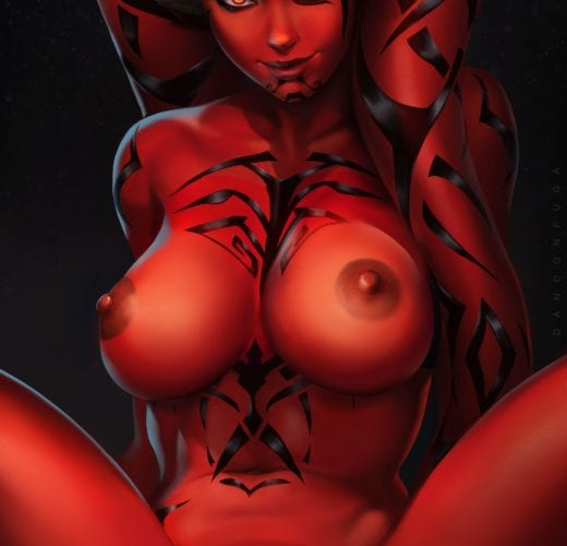 Darth Talon ~ Star Wars Fan Art by Dandon Fuga