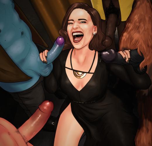 Qi'Ra Having Some Fun ~ Solo: A Star Wars Story Fan Art by Sassafras