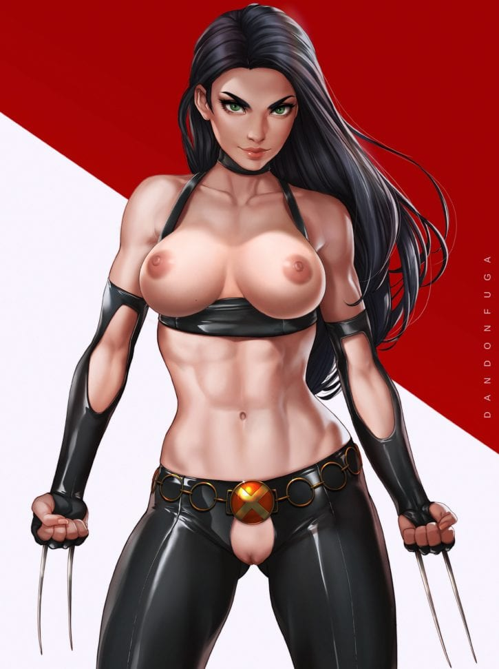 X-23 ~ X-Men Fan Art by DandonFuga