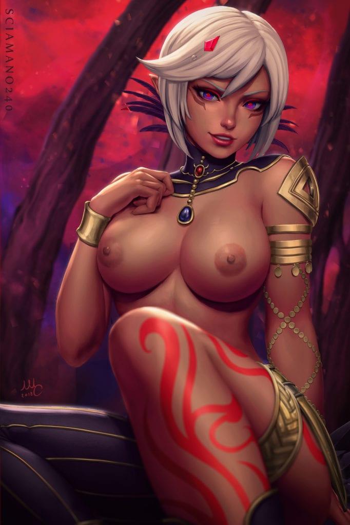 Cia ~ Hyrule Warriors Fan Art by Sciamano240