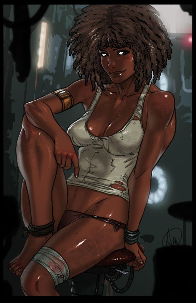 Shani ~ Beyond Good and Evil 2 Fan Art by Ganassa