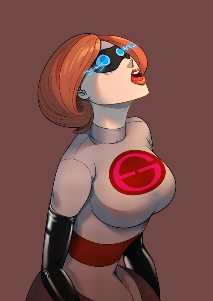 Helen Parr (Elastigirl) in Her Incredibles 2 Costume ~ Disney Rule 34 Collection [23 Pics]