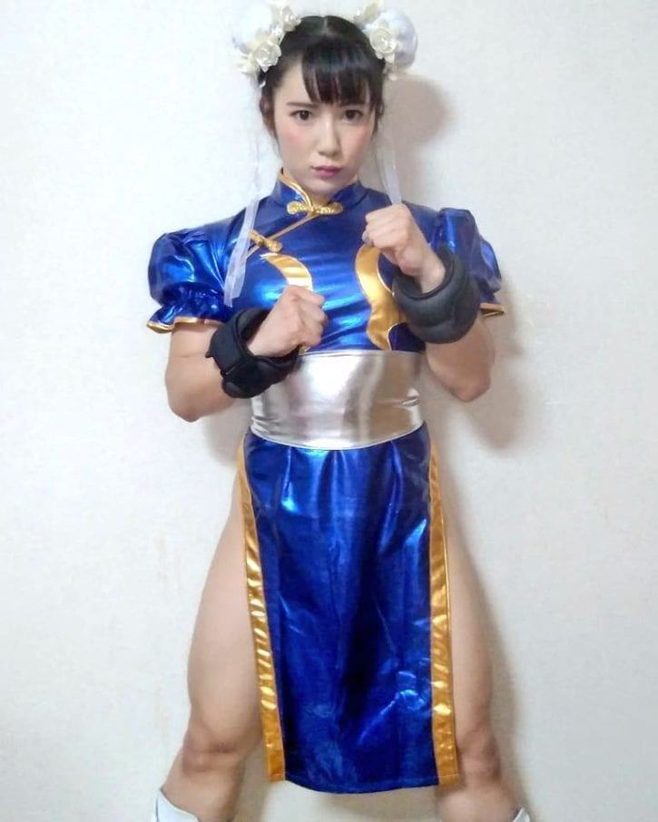 Reika Saiki as Chun-Li ~ Street Fighter Cosplay