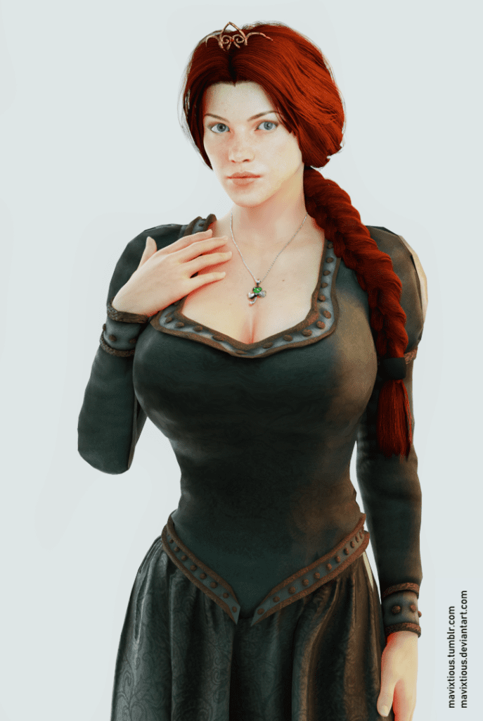 Princess Fiona ~ Shrek Fan Art by Mavixtious