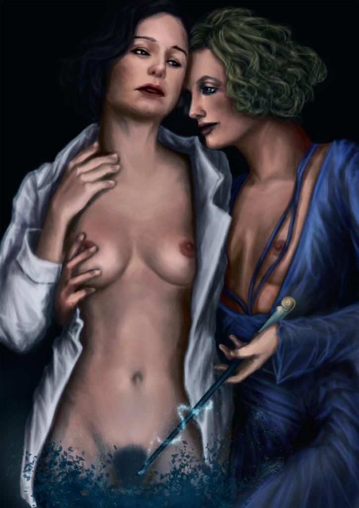 Queenie Goldstein ~ Fantastic Beasts Fan Art [3 Pics]