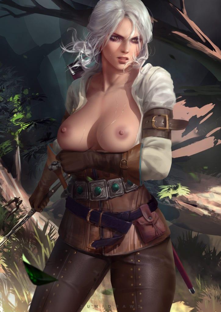 The Witcher Ciri Porn Art