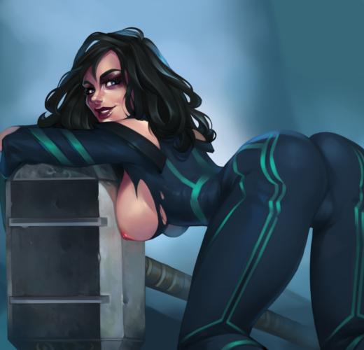 Hela ~ Marvel Cinematic Universe Fan Art by Kate Starling