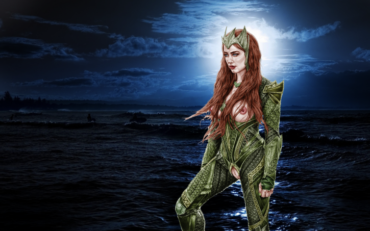Mera from Aquaman ~ DC Movie Rule 34 Gallery [9 Pics]