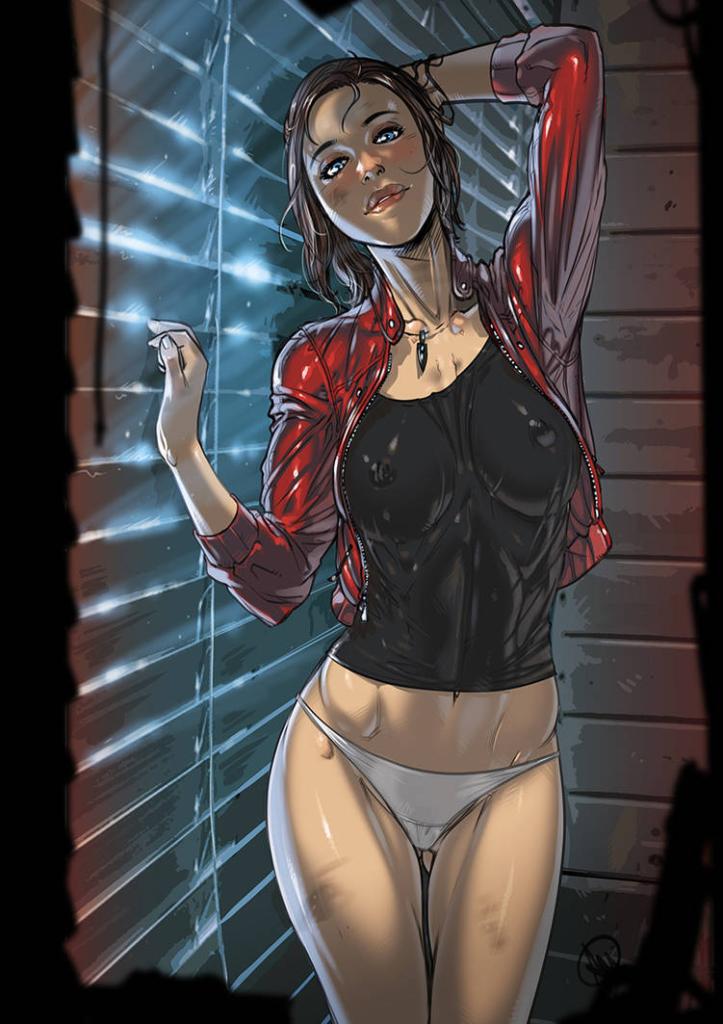 Claire Redfield ~ Resident Evil 2 Fan Art by Ganassa