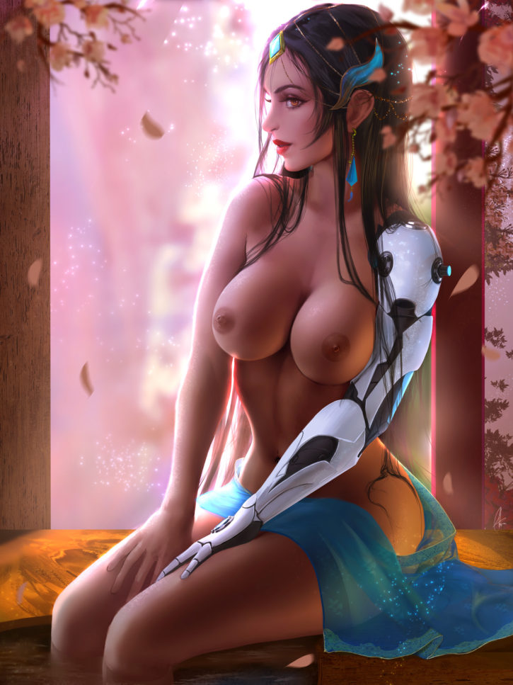 Symmetra ~ Overwatch Fan Art by ShuraKRGT