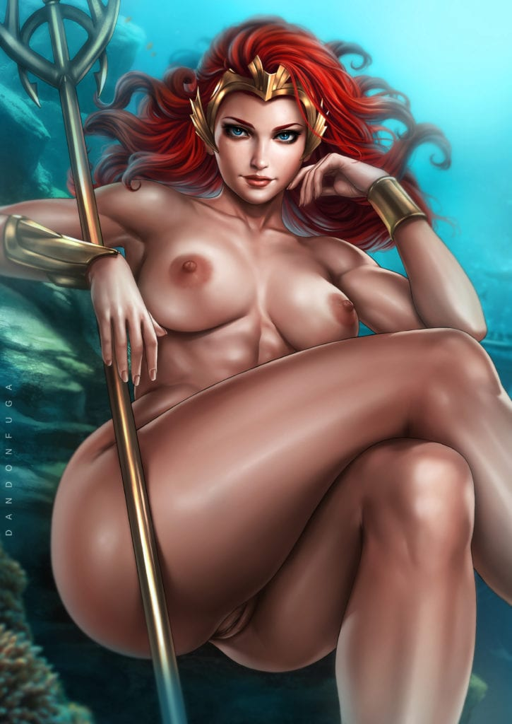 Mera ~ Aquaman Fan Art by Dandonfuga