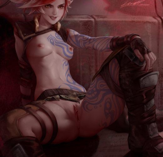 Lilith Pinup ~ Borderlands 2 Fan Art by LeraPI
