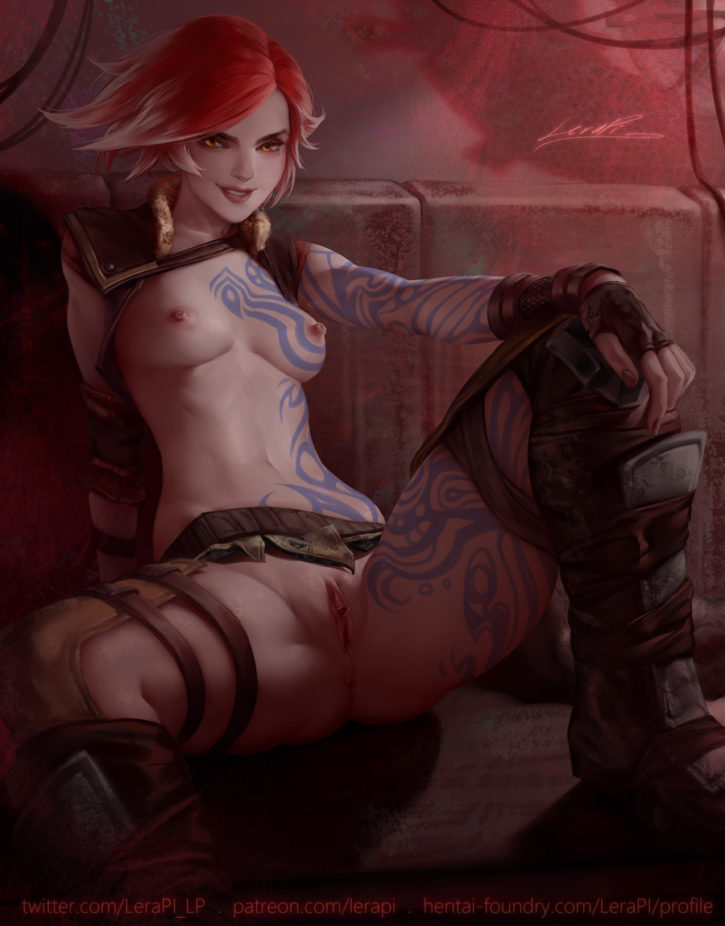 Lilith Pinup ~ Borderlands 2 Fan Art by LeraPI