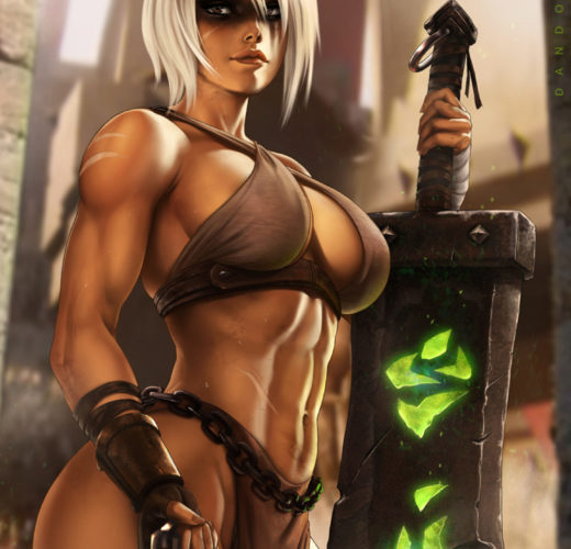 Riven ~ League of Legends Fan Art by Dandonfuga