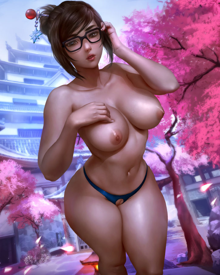 Mei ~ Overwatch Fan Art by Logan Cure