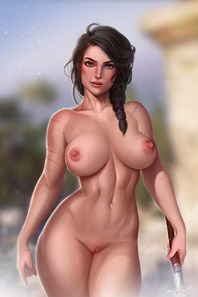 Kassandra – Asassin's Creed Odyssey Fan Art by Prywinko