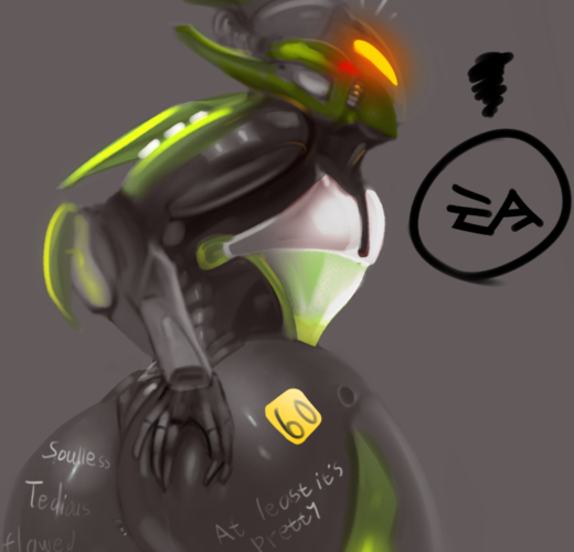 The Interceptor from Anthem Gets Rule 34'd