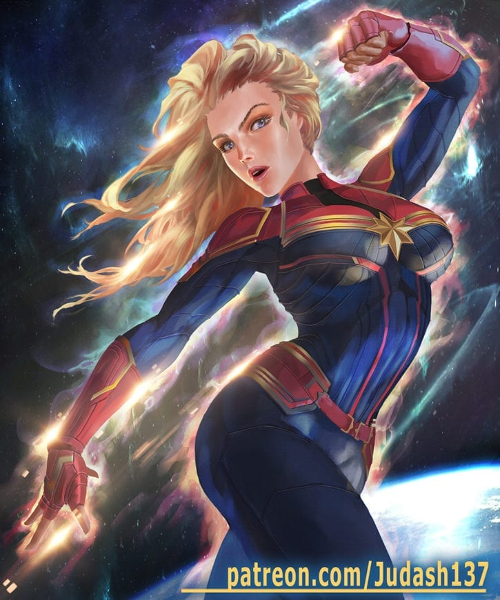 More Captain Marvel Rule 34~!