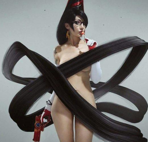 Elena Kucheruk as Bayonetta ~ Video Game Cosplay