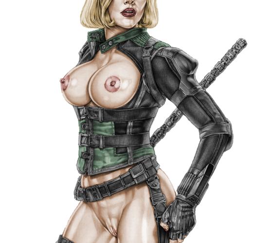 Black Widow in Avengers: Endgame ~ MCU Rule 34 by Armando Huerta