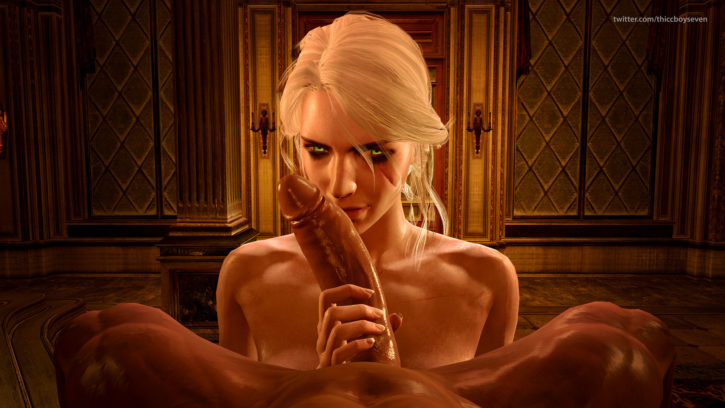 Ciri Looking Sultry ~ The Witcher Rule 34 by ThiccBoySeven