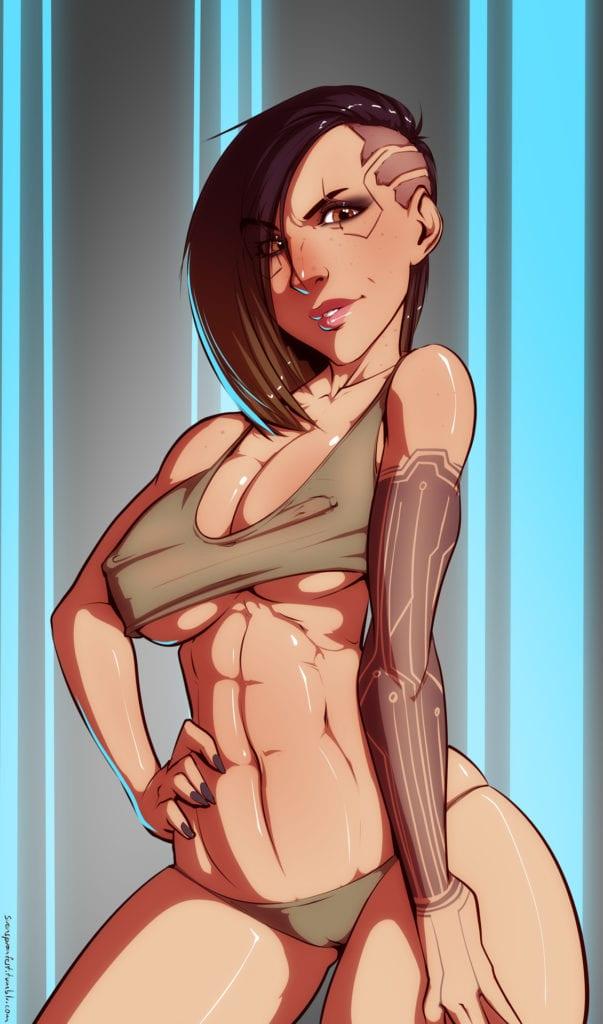 Cyberpunk 2077 ~ Rule 34 Fan Art Gallery [23 Pics]