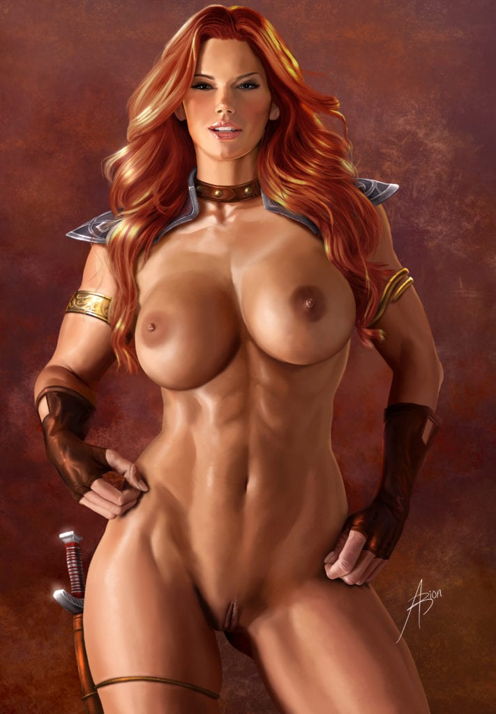 Red Sonja ~ Rule 34 Fan Art by Arion