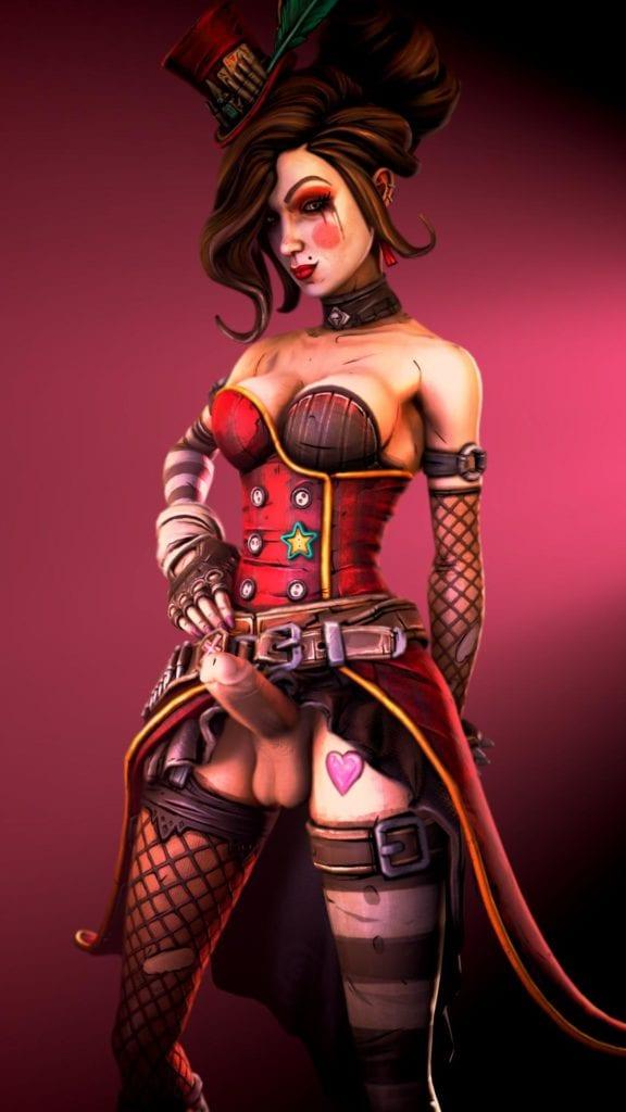 Futa Mad Moxxi x Lorelei ~ Borderlands Rule 34 Fan Art by Dawadd