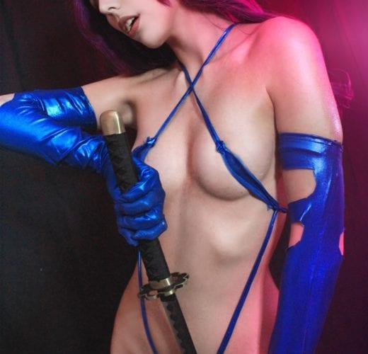 Psylocke ~ Marvel Comics Cosplay by Kate Key