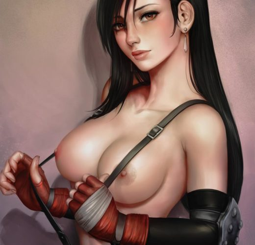 Tifa Lockhart ~ Final Fantasy VII Rule 34 Fan Art by Mirco Cabbia