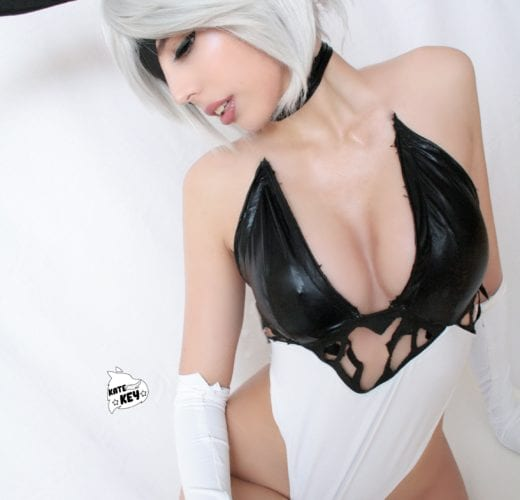 Bunny 2B ~ Sexy Nier: Automata Cosplay by Kate Key